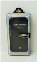 Power Bank Battery 5200 mAh