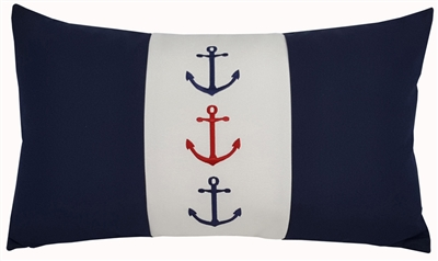 Three Anchors on Navy