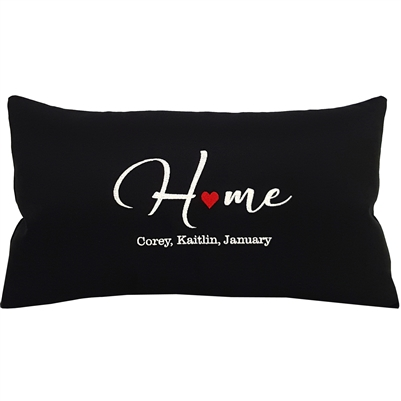 Personalized HOME Pillow (Add up to 7 names!)