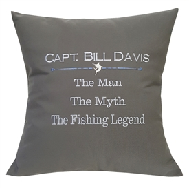 Fishing Legend Pillow