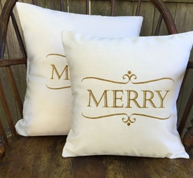 Merry Pillow in Light Cream