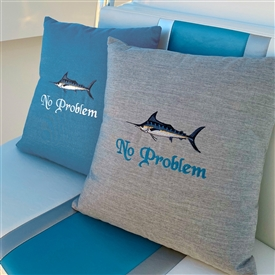 Custom Pillows for the Boat