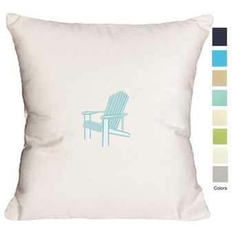 Coastal Cottage Adirondack Pillow
