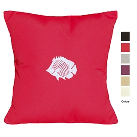 Contemporary Vibe Vintage Fish Pillow