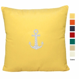 East Coast Anchor Pillow
