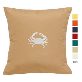 East Coast Crab Pillow