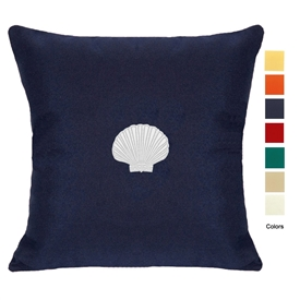 East Coast Scallop Pillow