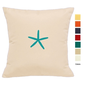 East Coast Starfish Pillow