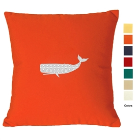 East Coast Whale Pillow