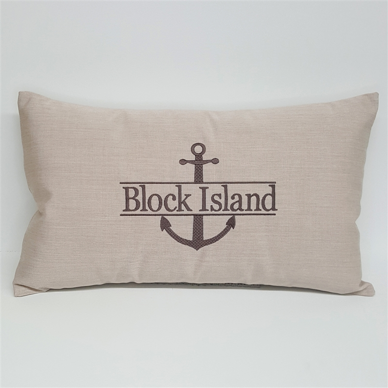 Personalized Split Anchor in White