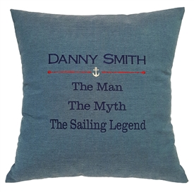 Sailing Legend Pillow
