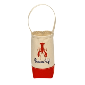Bottoms-Up! Wine Tote