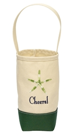 Starfish Cheers Wine Tote