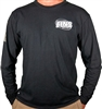 FINS Long Sleeve Black T-shirt