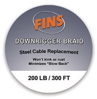 FINS Downrigger Braid Spool
