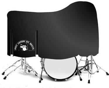 beato double kick drum kit dust cover. Black Bedroom Furniture Sets. Home Design Ideas