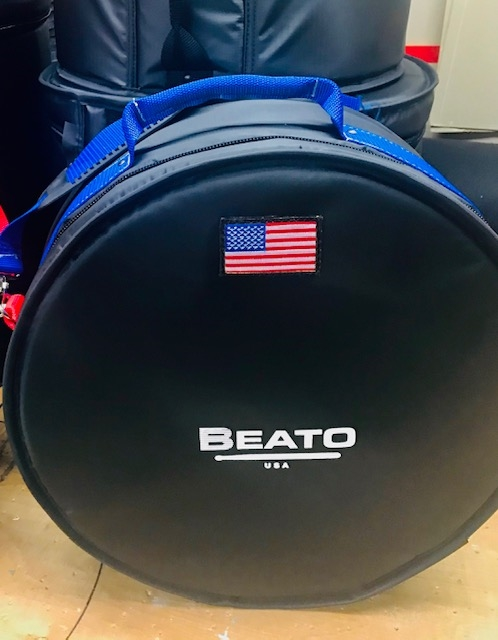 Beato Pro 1 Americana Series Snare Bag-Blue