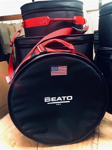 Beato Pro 1 Americana Series Snare Bag-Red