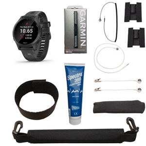 Garmin Forerunner 945 w/ Heart Rate Monitor and VMAX Premium Adapter Kit For Sale!