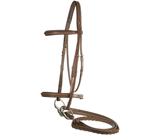 Best Discount Price on Comfort Crown Leather Bridle