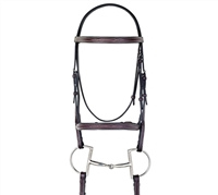 Best Discount Price on Fancy Leather Padded Dressage Bridle