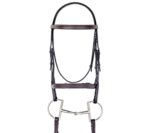 Best Discount Price on Fancy Leather Padded Bridle