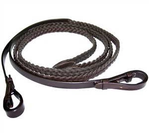 Exselle Leather Pleated Reins for sale!