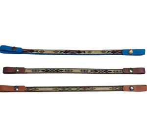 Navajo Brow Band with Snaps For Sale!
