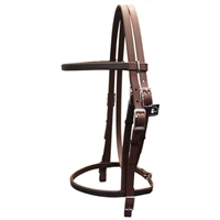 Traditional English Bridle with Buckles For Sale