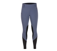 Kerrits Sit-Tight Windpro Kneepatch Tight in Blue Shadow For Sale!