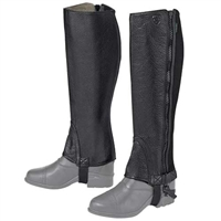 Ariat Breeze Washable Half Chap - Black For Sale