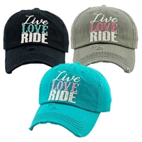 Live Love Ride Cap for Sale!