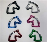 Carabiner Horse Head Key Chain for Sale!