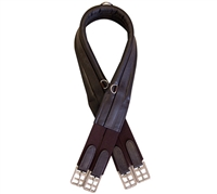 Pro Trainer Padded Leather Shaped Girth for sale!
