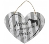 Heart Horse Themed Metal Signs For Sale!