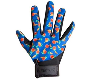 Kids Perfect Fit Glove The perfect glove for all the littles in your barn, the Noble Outfitters Kids Perfect Fit Glove is armored with a SureGrip synthetic suede palm, breathable jersey material and a reinforced forefinger, thumb and pinky to deter wear.