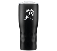 Dressage Horse Tumbler - Black for sale!