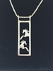 JJeni Duet Leaping Horse Necklace For Sale