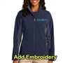 SanMar Ladies Jacket Navy/GreyFor Sale!