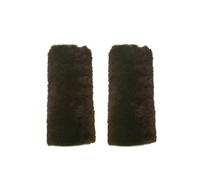 "Shear Comfort Sheepskin Stirrup Leather Covers for Bob Marshall - 2.5"" x 8"" for sale!"