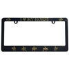I Love My Horse Western License Plate Frame For Sale!