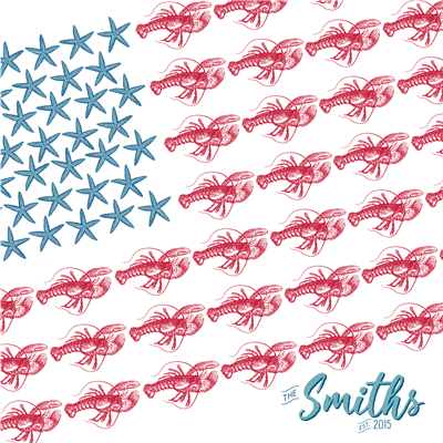 Sealife Flag Family Art