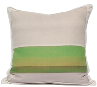 Color Block Pillow - Green