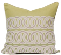 Rings Pillow - Green