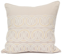 Rings Pillow - Gray