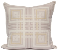 Squares Pillow - Gray