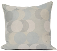 Circle Dots Pillow - Mist