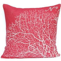 Seafan Pillow - Coral