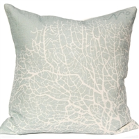 Seafan Pillow - Silverberry