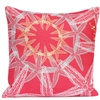 Starfish Suzani Pillow - Coral